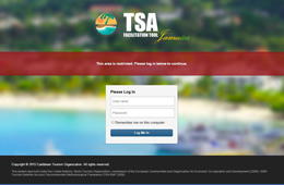 Caribbean Tourism Organization TSA Facilication Tool